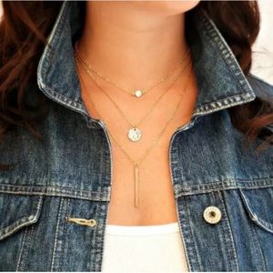 Delicate Layered Necklace | CZ Choker